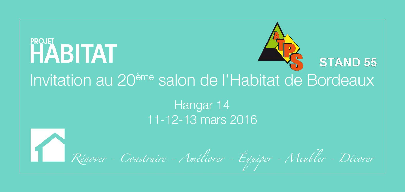 Salon projet habitat atps ossature bois for Salon habitat bordeaux