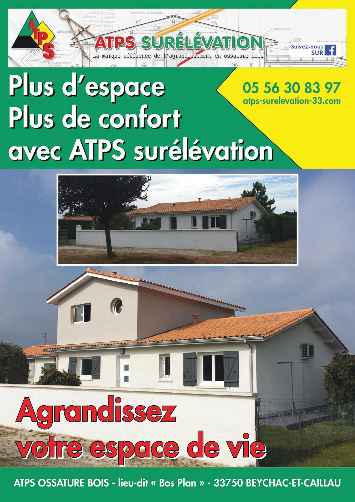 Magazine eco maison bois atps ossature bois for Magazine de maison