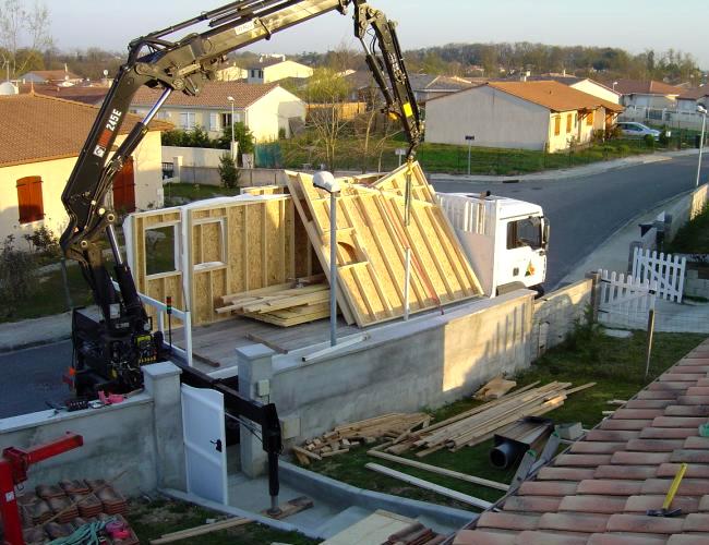 Maison ossature bois avantage sur pilotis la maison bois - Ossature bois technique ...