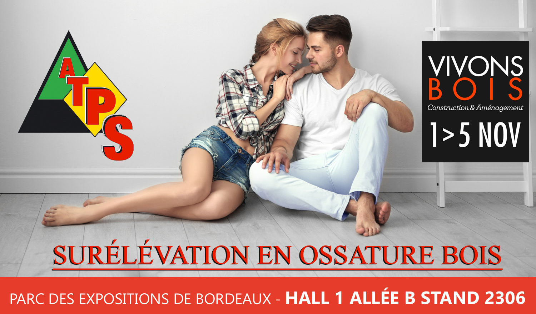 Salon vivons maison 2017 atps ossature bois for Salon vivons